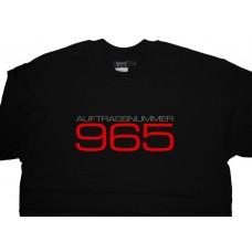 Porsche 965 Auftragsnummer