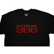 Porsche Boxster Auftragsnummer