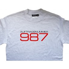 Porsche Cayman Boxster Auftragsnummer